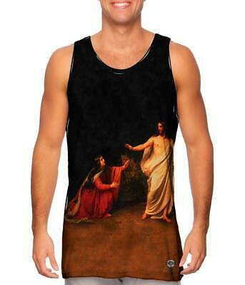 "Yizzam - ""Appearance of Jesus Christ to Maria…""- New Men Tank Top Tee Shirt 2658"
