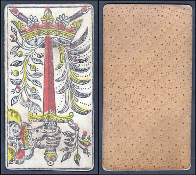 Original 18th century playing card / carte a jouer - Tarot / Spielkarte