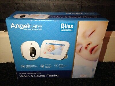 """Angelcare AC310 Video & Sound Monitor Digital Baby Monitor - 4.3"""" LCD Display"""