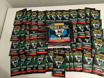 SEALED PACKS MERLIN'S Premier League Collector Cards (1996