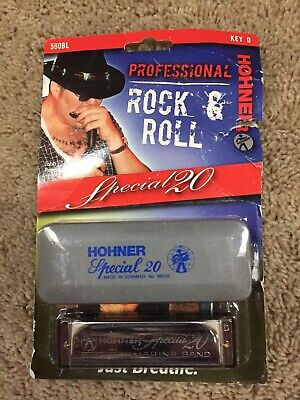 Hohner 560 Special 20 Classic Diatonic Harmonica Harp Key Of D