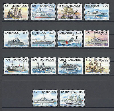 BARBADOS 1994-98 SG 1029a/42a MNH Cat £38
