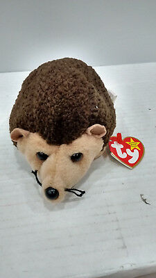 959ae033261 TY ORIGINAL BEANIE Babies Baby Prickles The Hedgehog with ERRORS ...
