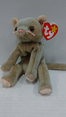 e6833611417 TY BEANIE BABY Scat the Cat Retired -  3.50