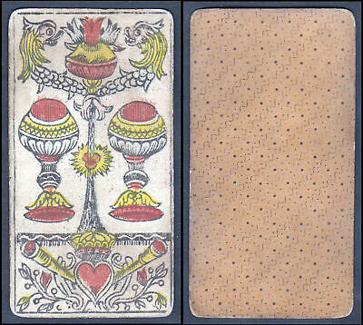 Original 18th century playing card / Tarot - carte a jouer / Spielkarte