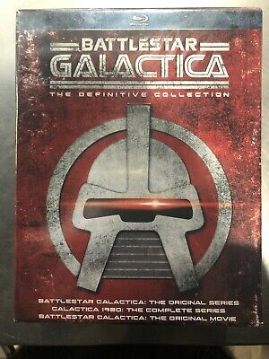Battlestar Galactica The Definitive Collection Blu-ray Disc Complete Series NEW