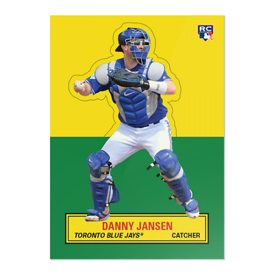 Danny Jansen 2019 Topps Tbt Throwback '64 Stand-Up Set #11 Rookie Card # 65
