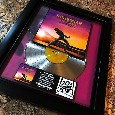 Queen Bohemian Rhapsody Platinum DVD Record Disc Album Movie Award RIAA Oscar