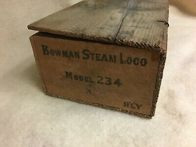 Bowman 234 Locomotive Box Only