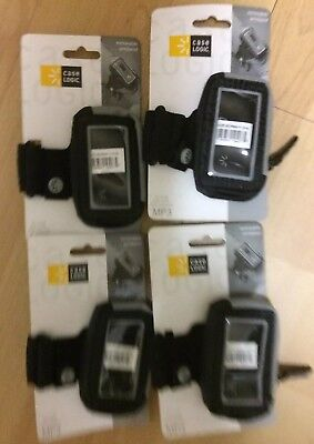 Lot Of 4 Small Case Logic Removable MP3 Player Armbands