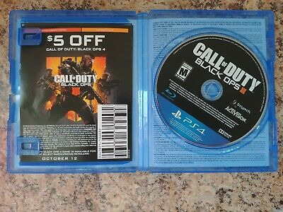 Call of Duty Black Ops III 3 Zombies Chronicles Edition Sony PS4 - NEW, OPEN BOX