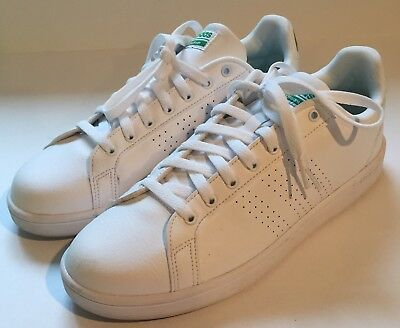 e5287d8209f2 Adidas NEO CF Advantage CL Ortho Memory Men s Shoes Size 11.5 White EUC  AW3914