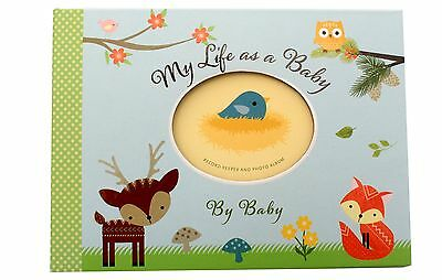 Woodland Animals Unisex Baby Girl Baby Boy Record Book Photo Album Newborn Gift