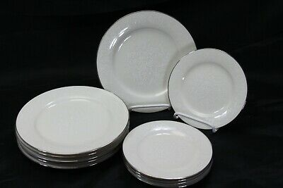 Noritake Ivory China Affection Salad and Bread Plates Lot of 10