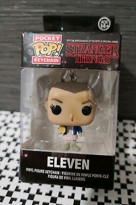 Portachiavi FUNKO POP! pocket UNDICI Stranger things idea regalo San Valentino