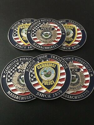 Cambridge MA Police Department Challenge Coin