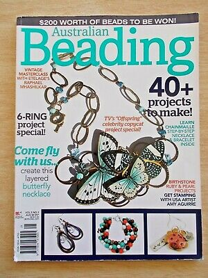 Australian Beading Vol 5 #3~40+ Projects~Jewellery~Rings~Bracelets~Necklaces