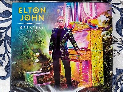 2CD Elton John ‎- 34 Greatest Hits Collection by Elton John 2 CD [NEW] 2018