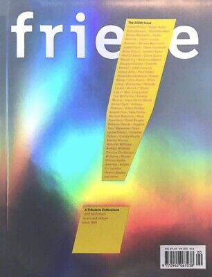 FRieze Magazine 200th Issue Anniversary Contemporary Art 90s Now Tracey 2019 NEW
