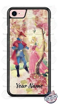 Princess Aurora Sleeping Beauty Personalized Phone Case for iPhone LG etc.