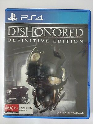 Dishonored: Definitive Edition - Playstation 4 PS4 - fast free post