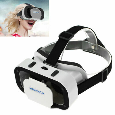 VR SHINECON Virtual Reality 3D VR Glasses Headset For Android iOS Windows G4S5