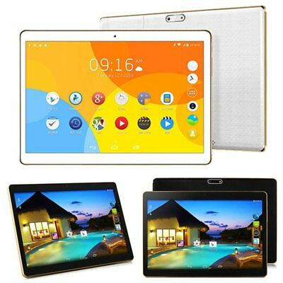 "10.1"" 64GB Android 6.0 Tablet PC Octa Core 10 Inch HD WIFI 2 SIM 4G Phablet HZ"