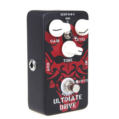 Ultimate Drive Overdrive Guitar Effect Pedal Hybrid OCD Distortion Accessories