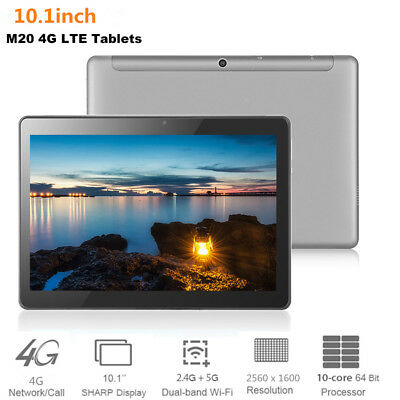 """10.1"""" 4GB+64GB Android 8.0 Tablet PC Deca Core 2.3GHz HD WiFi Dual Cam SIM 4G"""