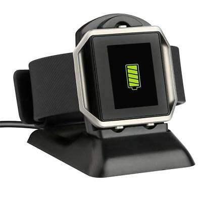 2 in1 USB Charging Cradle Cable Dock Stand Holder Charger for Fitbit Blaze Watch