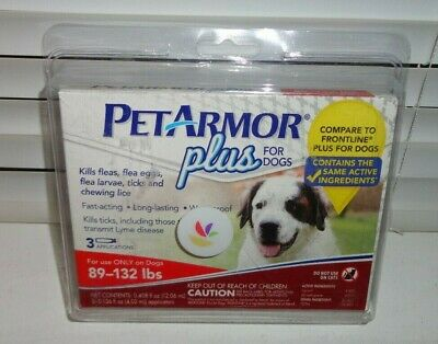 PetArmor Plus for Dogs, Flea and Tick Prevention for Dogs. 89-132 lbs