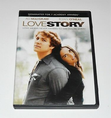 Love Story - 1970 (Widescreen DVD, 2007) Ryan O'Neal, Ali MacGraw