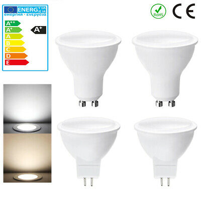 GU10 MR16 5W LED Bulbs Spotlight Lamps Downlight Dimmable or not Warm Cool Light