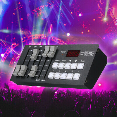 DC7-9V Mini DMX512 Console Stage Light Controller for Party DJ Rechargeable R4X7