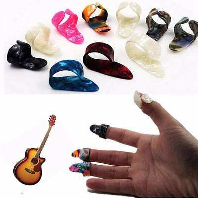 4PCS/Set Plastic 1 Thumb And 3 Finger Picks Accessories Plectrums Guitar Nail