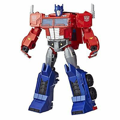 Transformers Toys Optimus Prime Cyberverse Ultimate Class Action Figure - Repeat