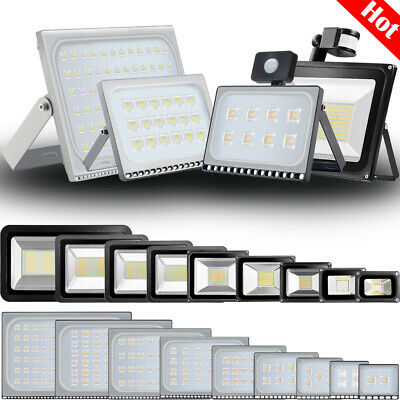 Led Floodlight 10W 20W 30W 100W 200W 500W Outdoor Security Spot Light IP65 UK