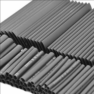 127Pcs Gaine Thermo Rétractable Ratio:2:1 Thermodurcissable Tuyau Assortiment OU