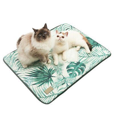 Ice Silk Pet Dog Cat Mat Summer Cooling Pad Sleeping Bed Cushion Size: 65cmx47cm