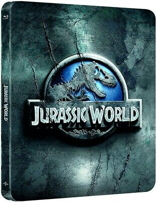 Jurassic World Blu-Ray Nuevo Steelbook