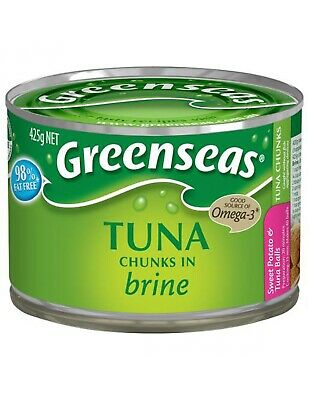 Green Seas Tuna Chunks In Brine 425gm