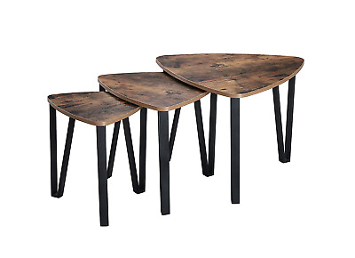 NEW Side Tables Set of 3 Lamp Tables Nightstand Unique Stylish Coffee Tables