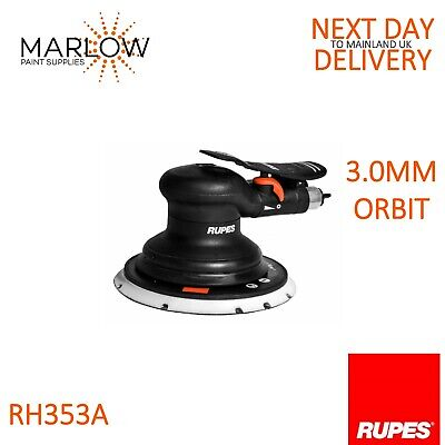 Rupes Scorpio Rh353A Mkiii Orbital Pneumatic Air Palm Sander 150Mm  -  3Mm Orbit