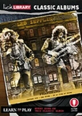 LICK LIBRARY Learn Play LED ZEPPELIN PHYSICAL GRAFFITI CLASSIC ALBUMS GUITAR DVD