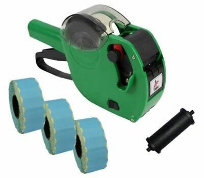 Panther PL-2612 9 Digit Pricing Gun with 4,500 Blue Perm Labels + Spare Ink