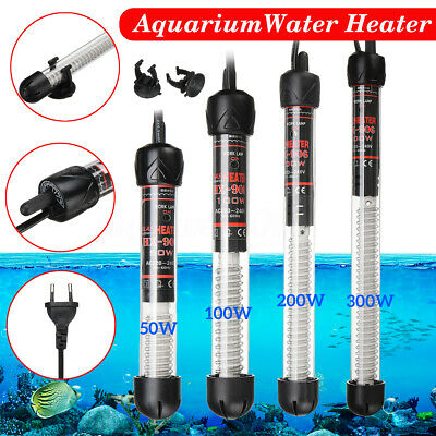 50W/100W/200W/300W Submersible Adjustable Water Heater For Aquarium Fish