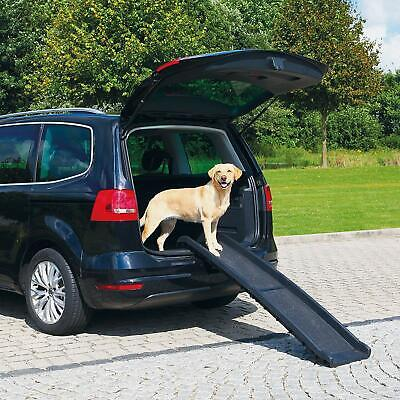 Dog Ramp Car Pet Travel Non Slip Folding Side Rails Protect Joint Easy Transport