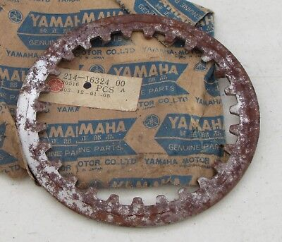 NOS New Yamaha DS7 DT1 DT2 DT360 MX250 MX360 TY250 R5 RT1 RT2 Clutch Plate #1