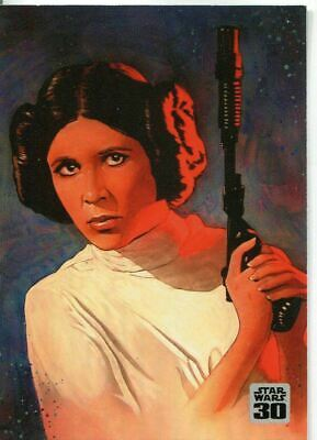 Star Wars - 30th Anniversary - Leia - Bonus Chase Card - 2007 Topps - NM