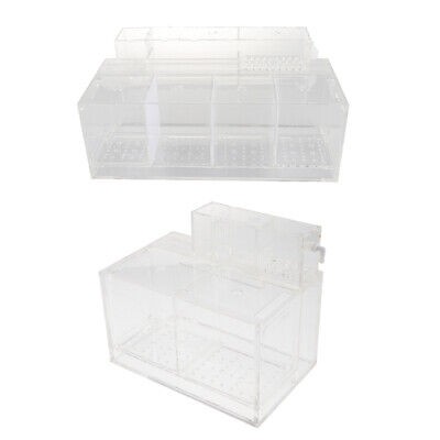 Baoblaze Aquarium Fish Shrimp Breeding Box Hatching Incubator Isolation Box